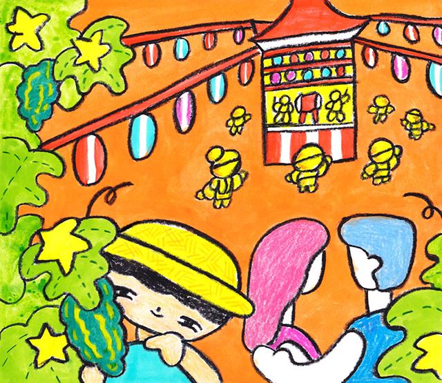 窓にシーズン #013「盆踊り」