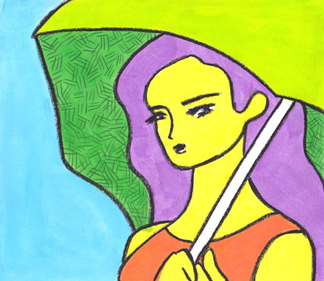 窓にシーズン #014「九月の雨」