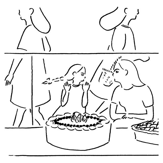 You are what you eat #084「わたしの中心はいつもここにあって、」