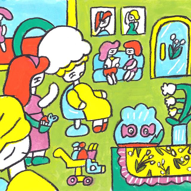 窓にシーズン #024「パーマネントすずらん」