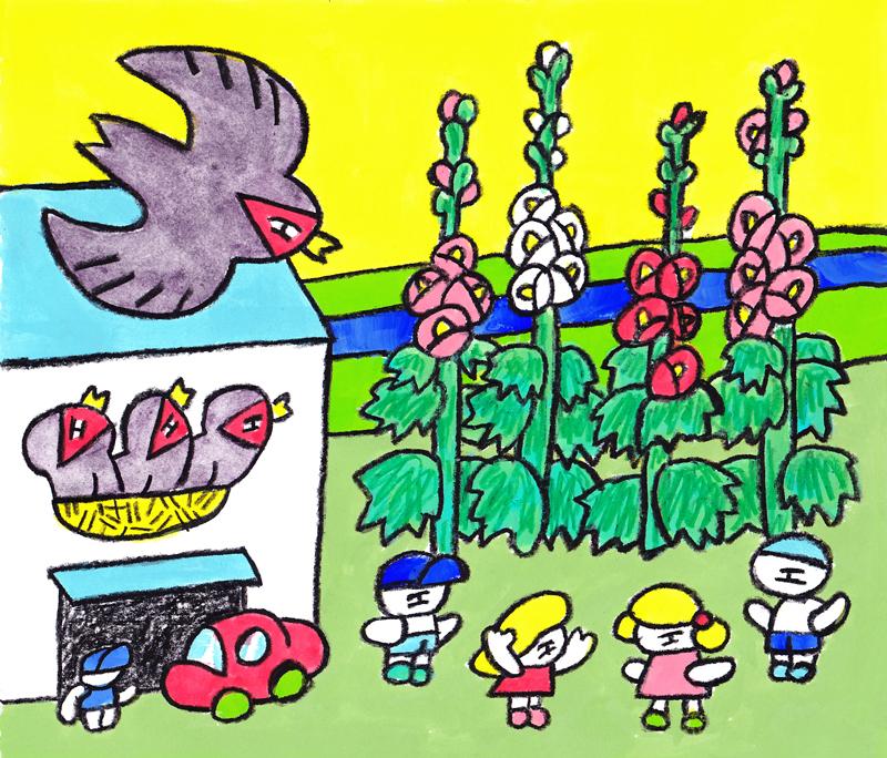 窓にシーズン #025「タッちゃんチーちゃんアオイちゃん」